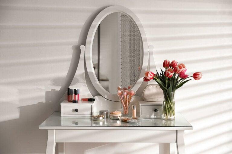 Come creare un perfetto vanity corner