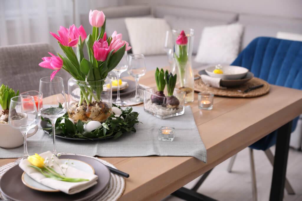 Come decorare una tavola estiva