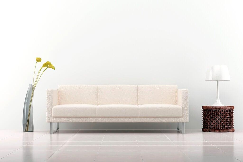 Vantaggi e svantaggi di avere un divano bianco
