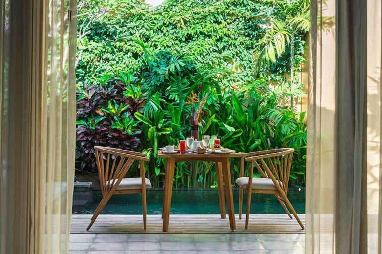 Idee decorative per una sala da pranzo in terrazza