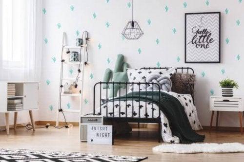寝室を「タンブラー」に出てくる部屋のように模様替え!