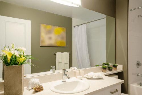 バスルームを変身させる簡単な方法
