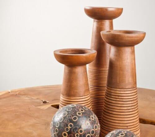 簡単に作れるDIY木製キャンドルホルダー