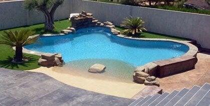 裏庭ビーチ~夏の楽園をあなたの家に~