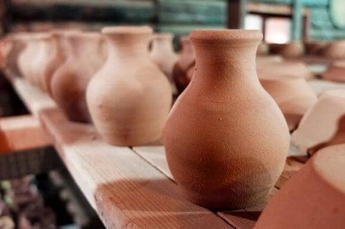 インテリアに粘土製のオブジェクトを使おう