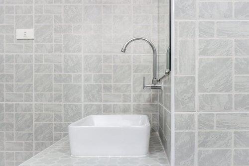 浴室の電気配線