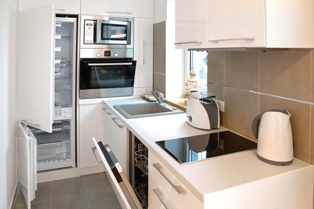 小さなキッチンを最大限に活用する4つのヒント 効果的な収納