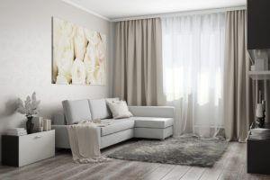 リビングルームにカーテンをかける独創的な方法 クラシックカーテン