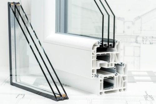 多くのメリットを持つPVC製の窓-3重構造の窓