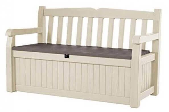 家に収納を加える収納スペースのある家具 ベンチ