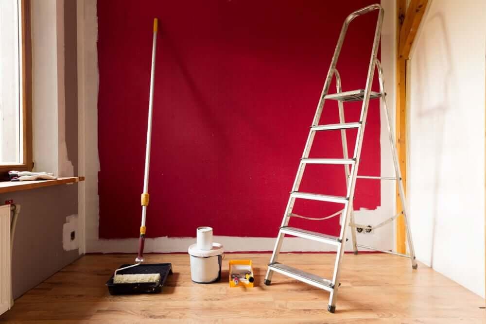 安全第一で住宅のリノベーション工事をする方法 塗装
