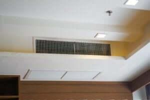 空調システム エアコンユニットを隠す方法