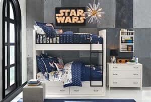 スターウォーズの子供部屋 好きな映画やキャラクターを生かした部屋づくり!
