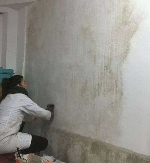 壁の修復に役立つ装飾ペイント技術