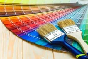 装飾ペイント技術 カラーパレット
