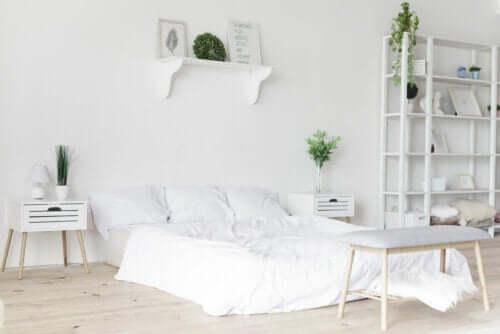 既成概念にとらわれないデコレーション 白一色の部屋