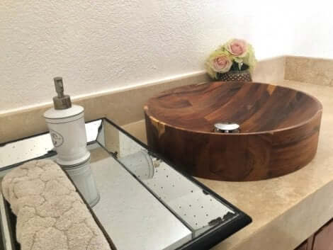 洗面台シンク ラスティックスタイル