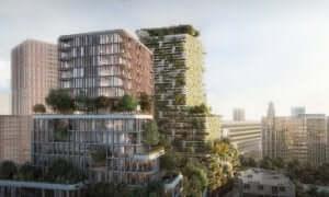 ホーソーンタワー サスティナブル建築 高層ビル 壁面緑化