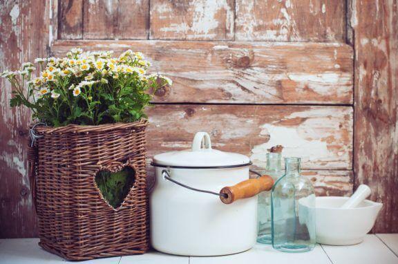 꽃: 집을 화사하고 아름답게 장식하는 법