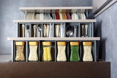 주방 정리를 위한 이케아의 수납 비법 5가지