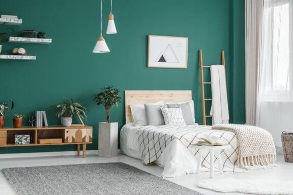 침실을 위한 최고의 색 및 색 조합