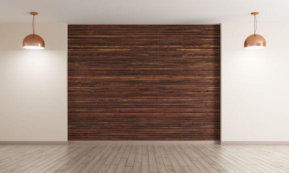 벽과 마루 위한 최신 나무 데코레이션