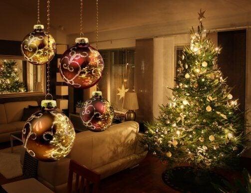 크리스마스 집 장식 위한 5가지의 핵심적인 팁