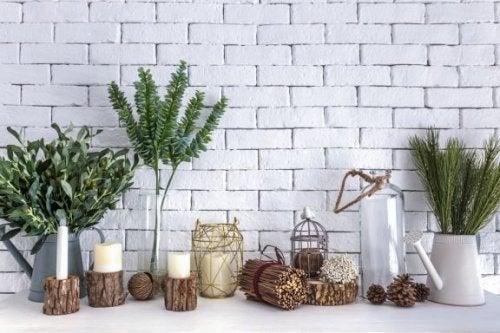 통나무 화분을 만드는 DIY 아이디어