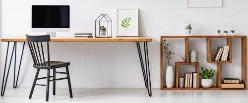 3단 사이드 테이블은 모든 층을 훌륭하게 장식할 수 있다.
