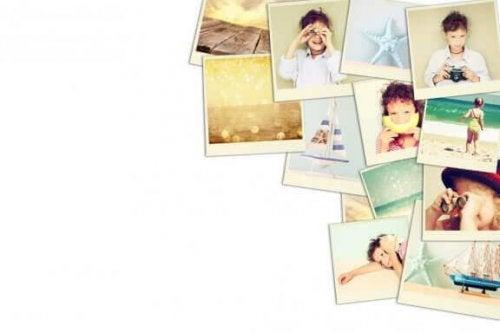 가족사진을 이용한 인테리어의 사라져가는 인기
