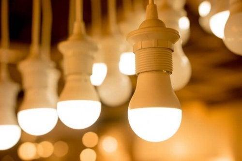 LED 전구의 절약