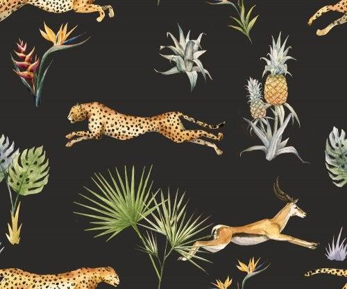동물 모티브 인테리어 중에서도 가장 인기가 많은 종류이다.