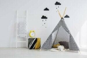 아이 방 인테리어에 꼭 필요한 데코 아이템  - 텐트
