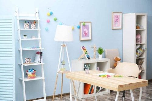 공부하기 좋은 환경을 만들 때 색깔은 꼭 고려해야 할 요소 중 하나이다.