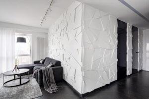 벽지를 활용한 아름다운 데코