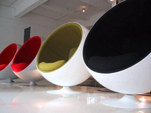 볼 의자: 혁신적인 아방가르드 가구