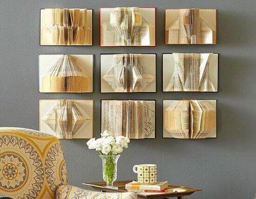 집에 개성을 가져다줄 독창적인 벽 장식 아이디어