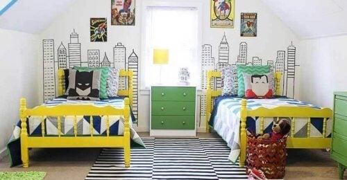 어린이 침실을 위한 최고의 테마 6가지