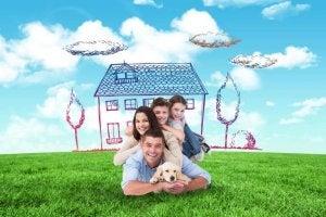 집에 가치 더하기-가족