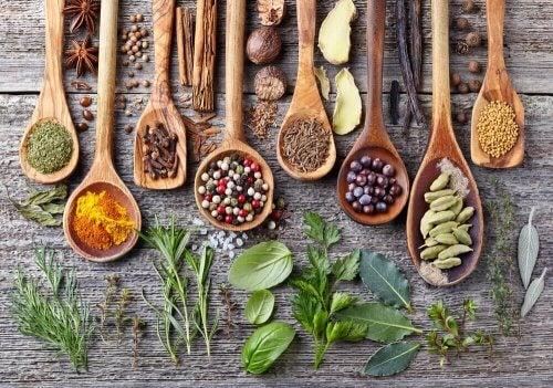 향신료를 저장하는 독특한 방법 6 가지