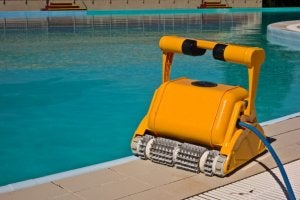 로봇식 수영장 청소기-2