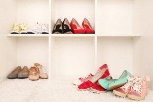 신발을 정리하는 방법