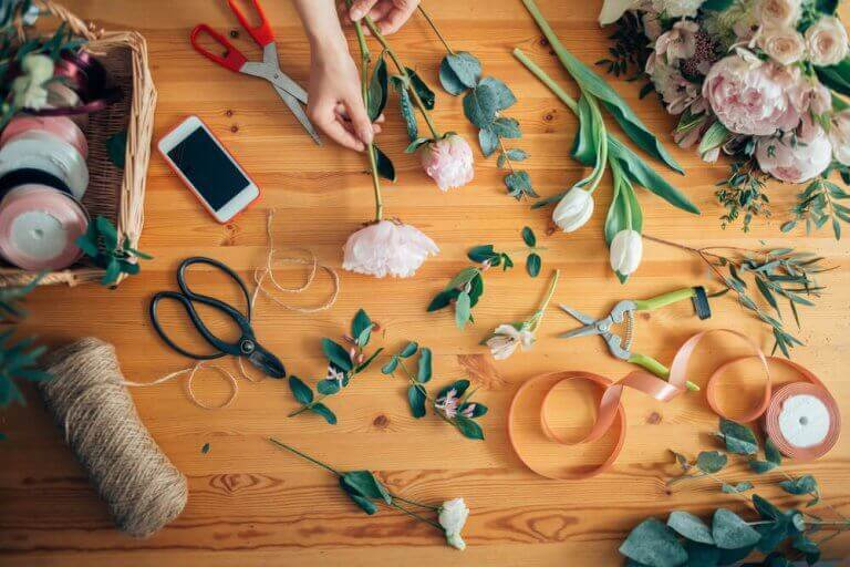 꽃꽂이 트렌드: 아름다운 꽃다발 만드는 법