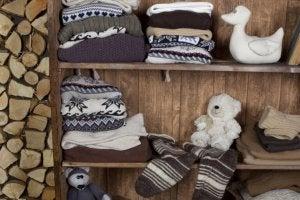 겨울옷 보관