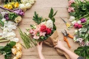 꽃다발에 가장 적합한 꽃