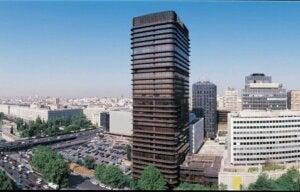 마드리드 건물 BBVA 타워