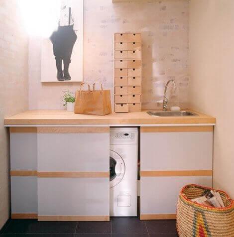 미니 세탁실 - 실용적인 솔루션