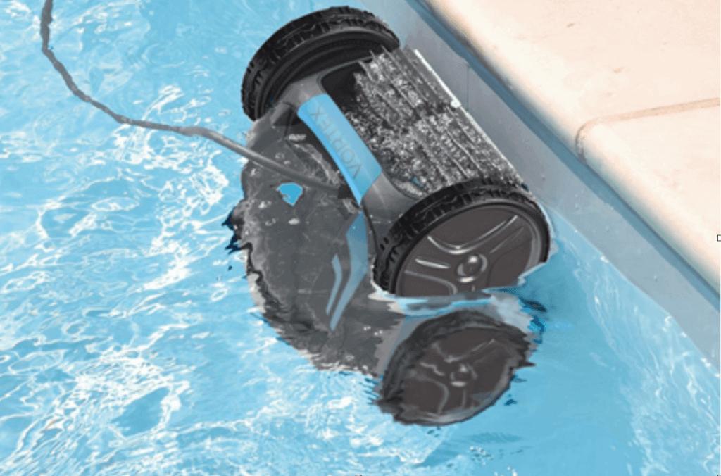 수영장 청소기 연결 및 실행 방법
