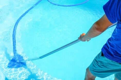 수영장 청소기 유형