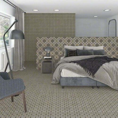 바닥을 위한 유색 세라믹